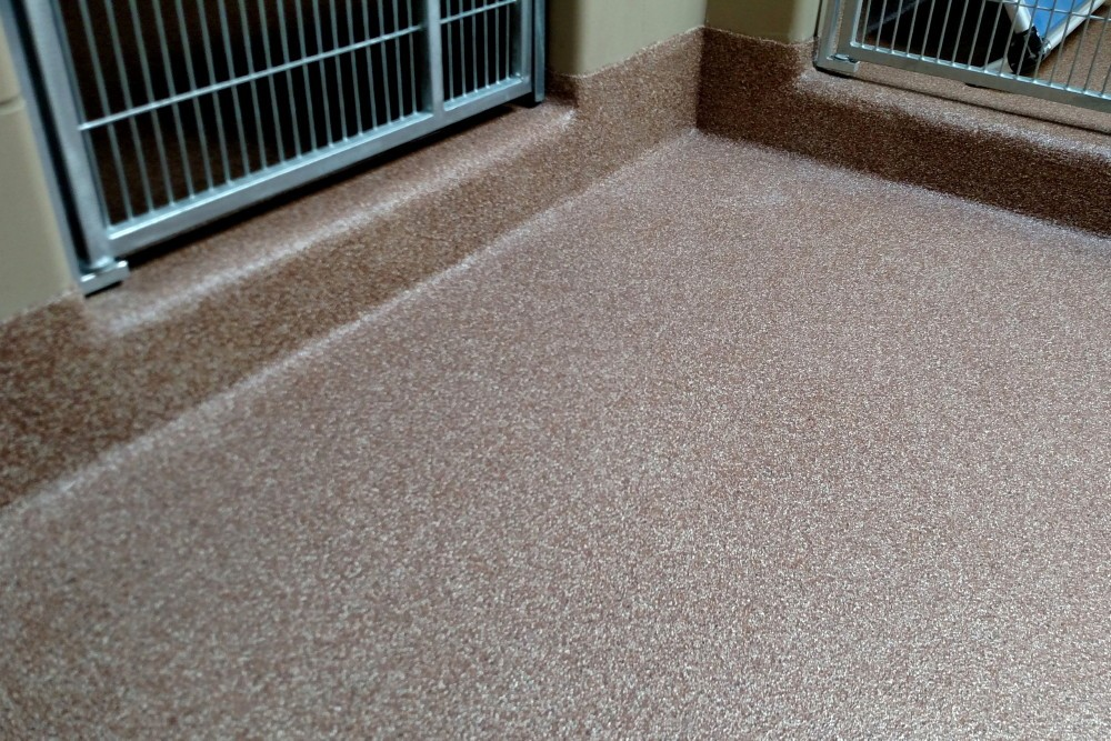 Resinous Floor Coatings for Vets