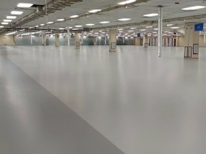 traditional esd floor