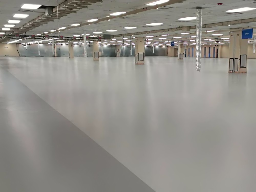 traditional esd floor