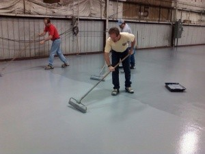 cleaning industrial flooring and longer service life