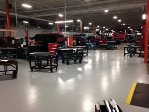 enhancing safety with clean industrial floors